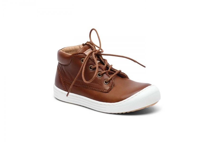 Bisgaard, cognac sko med lisser , 30310 Barneklær og