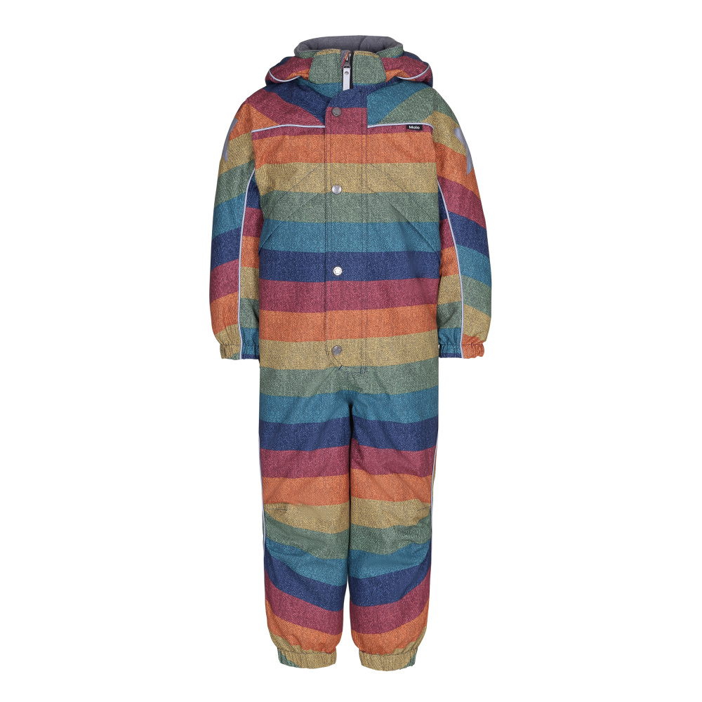 8664030a Molo, Polaris denim rainbow vinterdress - Barneklær - Sam & Sofie