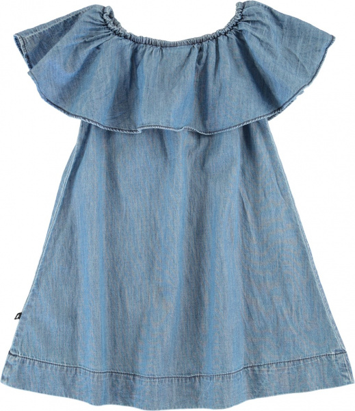 Molo, Cherisa washed indigo kjole