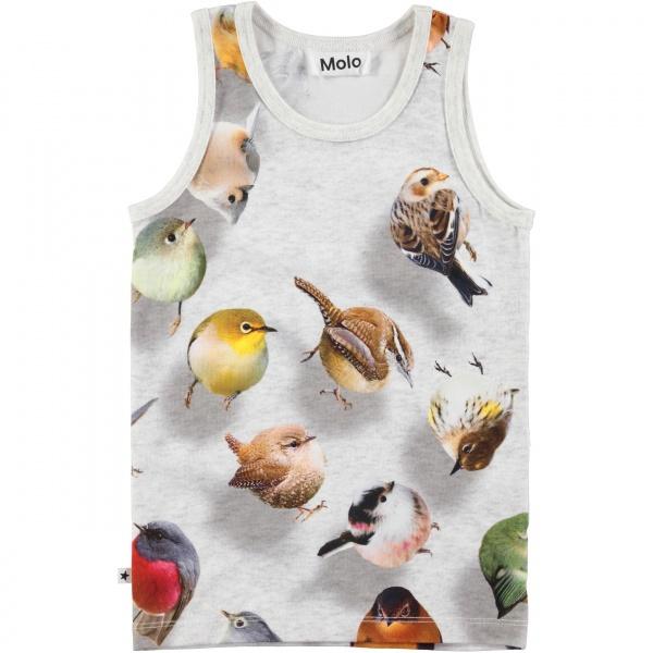 75d359fb695 Molo, Joshlyn bouncing birds singlet - Barneklær - Sam & Sofie