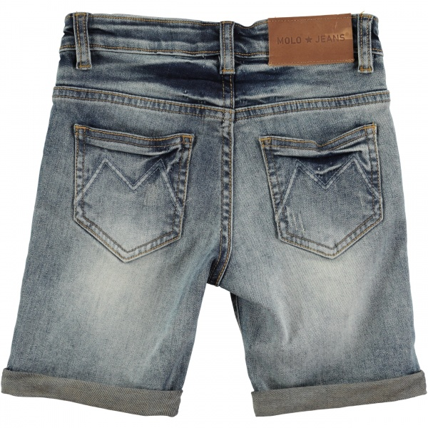 Molo, Aslak vorn denim shorts