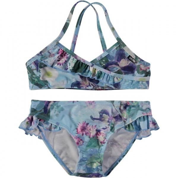 858823e33 Molo, Norma aquar flowers bikini