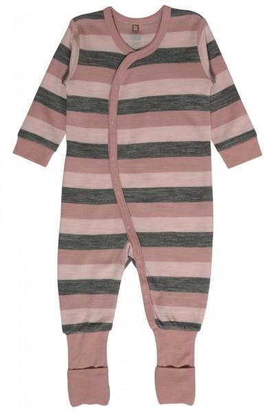 62c4dc51 Hust & Claire, heldress merinoull rosa striper - Barneklær - Sam & Sofie