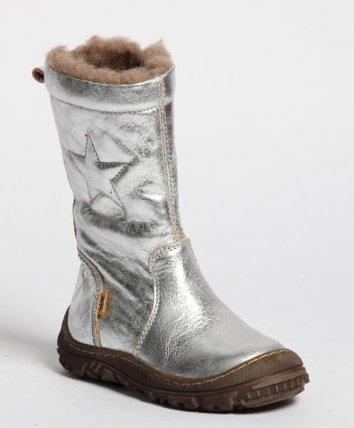 6ff6bebd56b Bisgaard texstøvlett sølv 61024 - Barneklær - Sam & Sofie